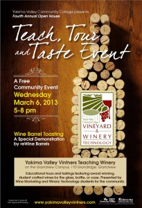 Teach Tour Taste 2013