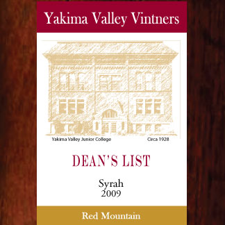 YVV-Gold-Dean's-List-Syrah--2009--Label-wood